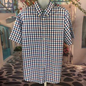 👕Brooks Brothers Short Sleeve Checkered Shirt 👕